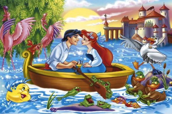 Ariel Hidden Objects