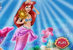 Ariel Mermaid Dress Up