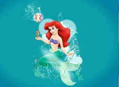 Ariel Mermaid Puzzle