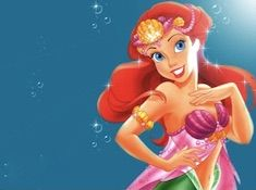 Ariel Princess in Pink Puzzle