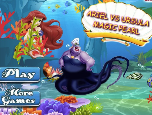 Ariel vs Ursula Black Pearl
