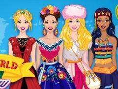 Around The World Fashion Show 2 Barbie Games