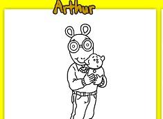 Arthur Coloring Page