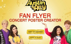 Austin and Ally Fan Flyer