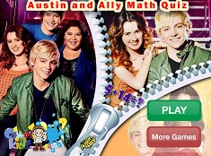 Austin and Ally Maths Quiz