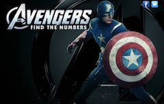 Avengers Hidden Numbers