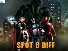 Avengers Spot the Differences