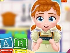 Baby Anna Blocks Cake