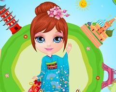 Baby Barbie Around the World