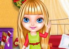 Baby Barbie Christmas Magic