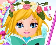 Baby Barbie Floral Braids
