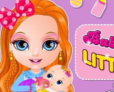 Baby Barbie Little Sister Care