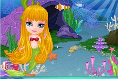Baby Barbie Mermaids Land