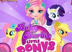 my little pony barbie games