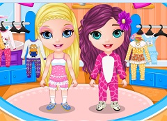 Baby Barbie Pijama Party