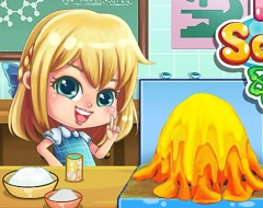 Baby Barbie Volcano Project