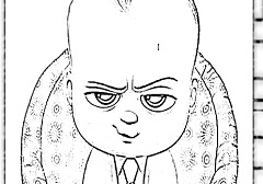 Boss Baby Coloring