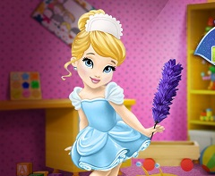 Baby Cinderella Room Cleaning