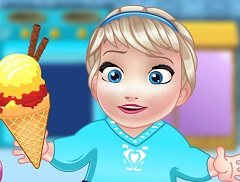 Baby Elsa Housemade Ice Cream