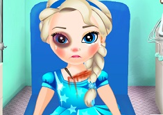 Baby Elsa in Ambulance