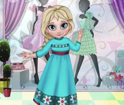 Baby Elsa Winter Clothes