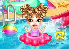 Baby Girl Pool