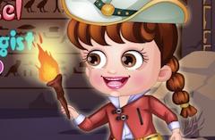 Baby Hazel Archeologist