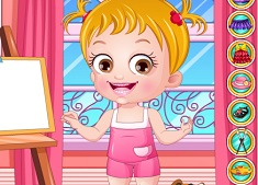 Baby Hazel Artist Dress Up