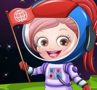 Baby Hazel Astronaut Dress Up