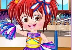 Baby Hazel Cheerleader