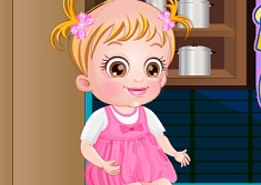 Baby Hazel Cupcake