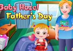 Baby Hazel Father Day