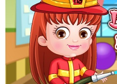 Baby Hazel Firefighter