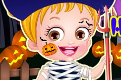 Baby Hazel Halloween Dress Up 2