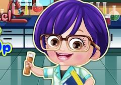Baby Hazel Scientist