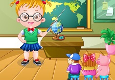 Baby Hazel Teacher Dress Up