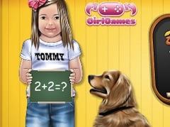 Baby Julia Learns Math
