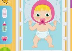 Baby Masha Diaper Change