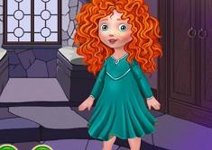 Baby Merida Dress Up