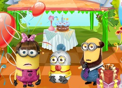 Baby Minion Birthday Party