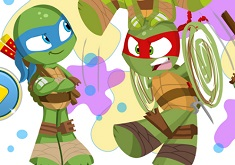 Baby Ninja Turtle Coloring