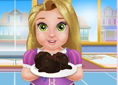 Baby Rapunzel Chocolate Balls