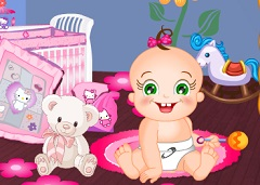 Baby Rosy Room Decor