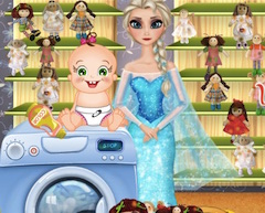 Baby Rosy Washing Dolls