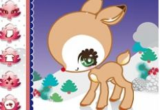 Baby Rudolph Dress Up