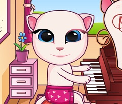 Baby Talking Angela  Piano