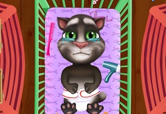 Baby Talking Tom Diaper Change