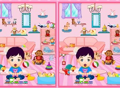 Baby Toys Room Differences