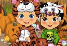 Baby Twins Halloween Costumes