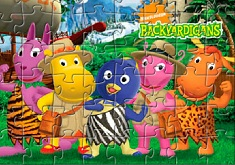 Backyardigans Friends Puzzle